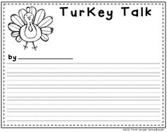 Classroom Freebies Too: Thanksgiving Writing {After the Feast}