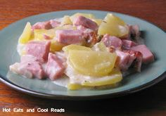 Hot Eats and Cool Reads: Scalloped Potatoes and Ham Recipe