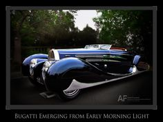 Love! Beautiful car--Photograph T57C Dawn at Greystone by Royce Rumsey on 500px