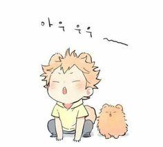 รูปภาพ anime, haikyuu, and cute