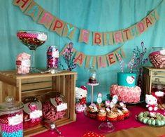 "Hello Kitty / Birthday ""Hello Kitty 5th Birthday"" | Catch My Party"