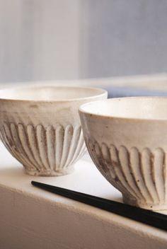 Rice Bowl by Kazuko Fujiwara  #Ceramics #Bowl