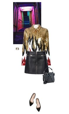 """Untitled #2269"" by wizmurphy ❤ liked on Polyvore featuring Filles à papa, Alexander Wang, Tory Burch, Yves Saint Laurent, Oscar de la Renta and saintlaurent"