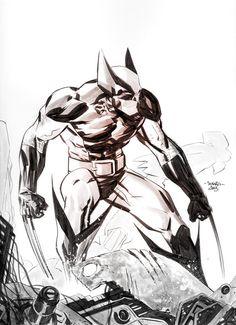 Wolverine by Marcio Takara https://www.facebook.com/CharacterDesignReferences