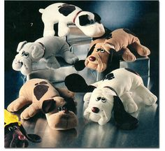Pound Puppies! I remember when Hardee's would have the baby puppies.  My mom drove all over one year to get me one.