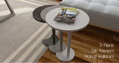 Maya 3'lü Zigon Sehpa Decor, Furniture, Home Appliances, Appliances, Roomba, Side Table, Table, Home Decor, Coffee Table