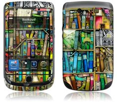 Bookshelf by Colin Thompson for the Blackberry Torch 9810, 9800