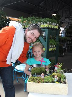 Really...it's great fun at The Barn Nursery.  Our miniature garden workshops are fabulous...and fun for all ages!  423-698-2276