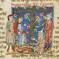 Codex Bodmer 127 053v 1170-1200 Check out the hats!