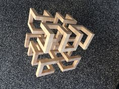 Wood Lamps, Project 3, Arabesque, Wood Design, Triangles, Welding, Cubes, Wood Art, Puzzles