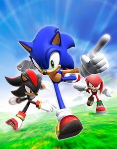 Sonic. Shadow. Knuckles.