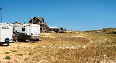 The Cape Hatteras KOA campground in Rodanthe, N.C., just over the dunes from the Atlantic Ocean (From: 5 Road-Tested Tips From an RV Rookie)