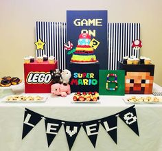 You have to see this video games & boho glam birthday party! See more party ideas at CatchMyParty.com!