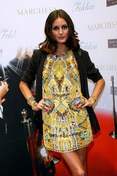 Amarillo y Turquesa ~ great printed dress
