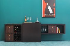 IKEA Hackers: Hacky New Year EXPEDIT Bar!!!  Holy.... just.... WOW!!  Who wants to make this for my new place?