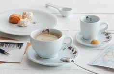 Café Sommelier - KAHLA. Porzellan für die Sinne Design: Barbara Schmidt, Dekor: Tine Drefahl