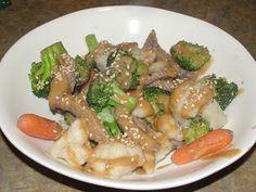 Paleo on Main: Thai (NO) Peanut Beef and Veggies