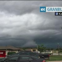 Meteorologist Dave Schwartz explains an image of a funnel cloud that possibly touched down becoming a tornado in Texas and an image of what is probably a shelf cloud. Tornado Texas, Alien Worlds, The Weather Channel, How To Become, Shelf, Clouds, Landscape, Image, Nature