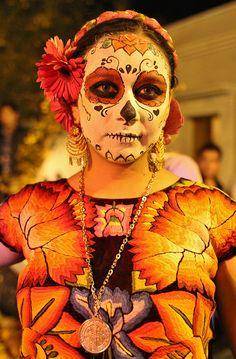 Dia de los muertos en Oaxaca