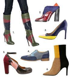 Tendances chaussures A H 20152016