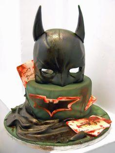 Ddadfafaedbjpg  Pixels Cakes - Dark knight birthday cake