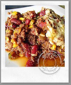 Chili con carne gratiné | Un siphon fon fon