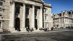 Founded by Elizabeth in Trinity College Dublin is the oldest University in Ireland! Dublin Ireland, Ireland Travel, The Places Youll Go, Places Ive Been, Ireland Places To Visit, Trinity College Dublin, Dublin City, Study Abroad, The Good Place
