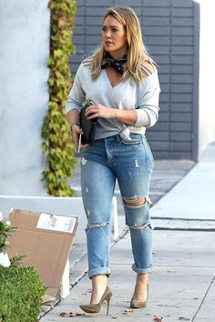 Hilary Duff - out and about in LA - 10/18/16