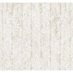 "Found it at Wayfair - Pure Country Reba Faux Wood 33' x 20.5"" Floral 3D Embossed Wallpaper"