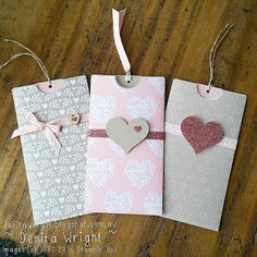 Denita Wright - Independent Stampin' Up! Demonstrator: Love Blossoms Gift Card Holder Photo Tutorial