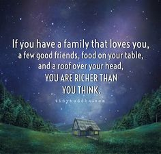 You are richer than you think