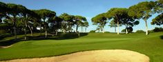 Oceanico Old Course at Vilamoura.. Didn't make it to the 18th hole unfortunately. This year I'll give it a go