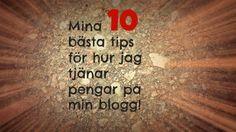 Hur kan man tjäna pengar på att blogga? - Starta-Blogg.se