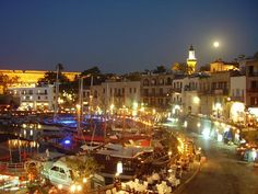 A beautiful image of The Harbour, Kyrenia, North Cyprus.