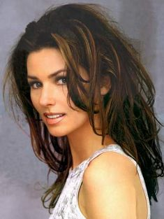 #Singer Shania Twain #Beautiful #Women