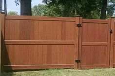 Vinyl Wood Fence on Pinterest   Fence, Wood Fences and Fencing