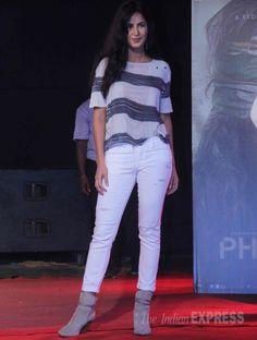Katrina Kaif promoting #Phantom at a college festival in Mumbai