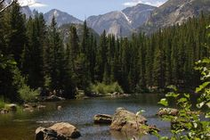 Rocky Mountain National Park, Estes Park, Colorado. In my opinion, one of the most beautiful places in the world (that I have seen thus far)