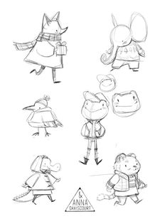 Animal Character Designs on BehanceYou can find Character design animation and more on our website.Animal Character Designs on Behance Male Character, Fantasy Character, Character Design Cartoon, Character Design Animation, Cartoon Art Styles, Character Design References, Character Drawing, Character Concept, Illustration Sketches