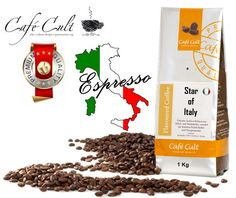 Café Expresso Star Of Italy.  Café Gourmet. www.mardete.com