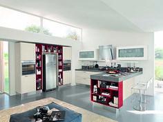 GALLERY, una cucina senza tempo con un anta a telaio ...