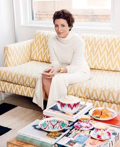 Home and decor tips and advice from Garance Dore - click for her bright, stylish advice!