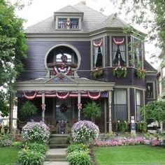 Victorian Homes by cheri