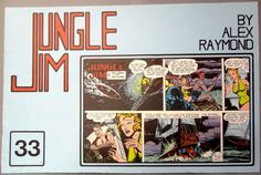 JUNGLE JIM #33 3rd Series Sunday Pages Jan 11/Aug 27 1950 Alex Raymond Paul Norris Don Moore LARGE Action Hero Newspaper Comic Strip Reprint