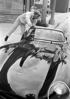 Steve McQueen - Jaguar XK-SS