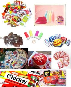 My favorite penny candy and others.