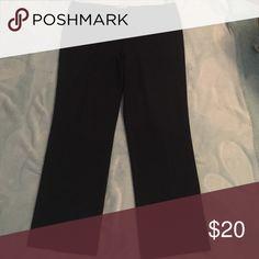 Women's Black Dress Pants Dressbarn Black pants! Like New! Dress Barn Pants Straight Leg