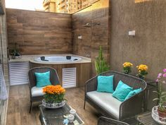 Uplifting small backyard patio ideas home // Small back yard? no problem. A well pland layout will maximize your space. Backyard Ideas For Small Yards, Small Backyard Patio, Backyard Patio Designs, Patio House Ideas, Patio Ideas, Cozy Patio, Patio Layout, Jacuzzi Outdoor, Design Jardin