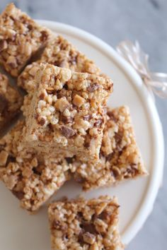 This recipe for Brown Butter Toffee Rice Krispies Treats® may sound complicated but rest assured, this no-bake dessert requires just 4 ingredients. The nutty, sweet, and salty flavor combination is sure to leave your family happy.