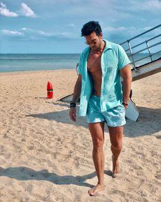 34233042908eb Podenco Salada Sharks Swim Shorts looking cool on @arthur_duurkoop all the  way in Florida.